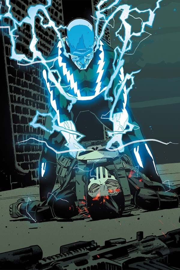 punisher vs electro marvel comics
