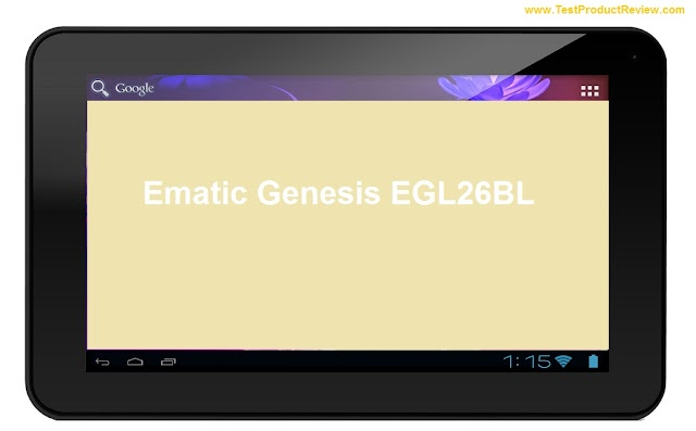 Ematic Genesis EGL26BL cheap 7-inch Android 4.0 tablet