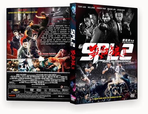 CAPA DVD – SPL 2 Horas De Consequencia DVD-R