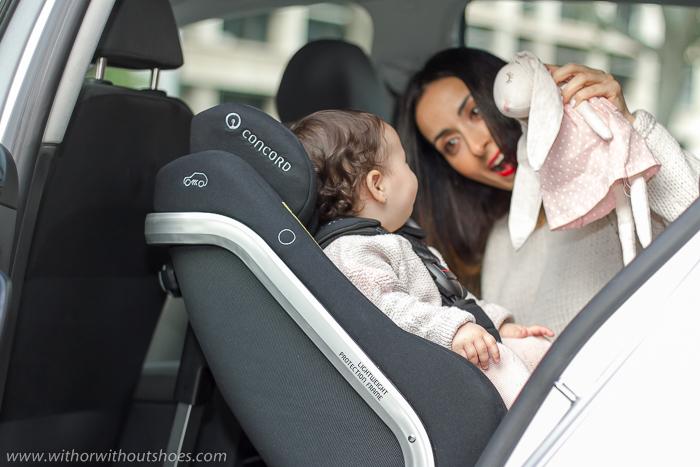Niños: Por qué viajar A Contramarcha y cómo escogimos nuestra silla de coche ACM CONCORD Reverso Plus