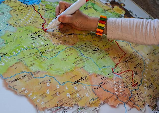 Mapa Polski, dzięki której nauka geografii będzie świetną zabawą