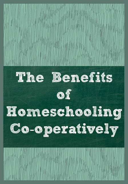 The Benefits of Homeschooling Co-operatively - from Homeschool Coffee Break @ kympossibleblog.blogspot.com - Join me for the rest of this article on The Homeschool Post @ hsbapost.com
