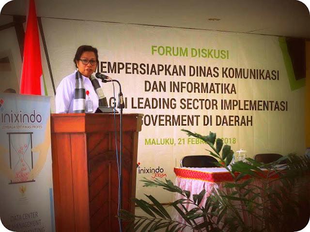 Kominfo Maluku Gelar Forum Diskusi Persiapan Leading Sector e-Government