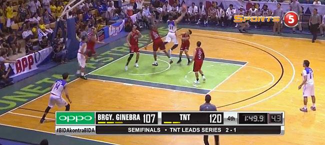 TNT def. Ginebra, 122-109 (REPLAY VIDEO) Semis Game 4 / June 17