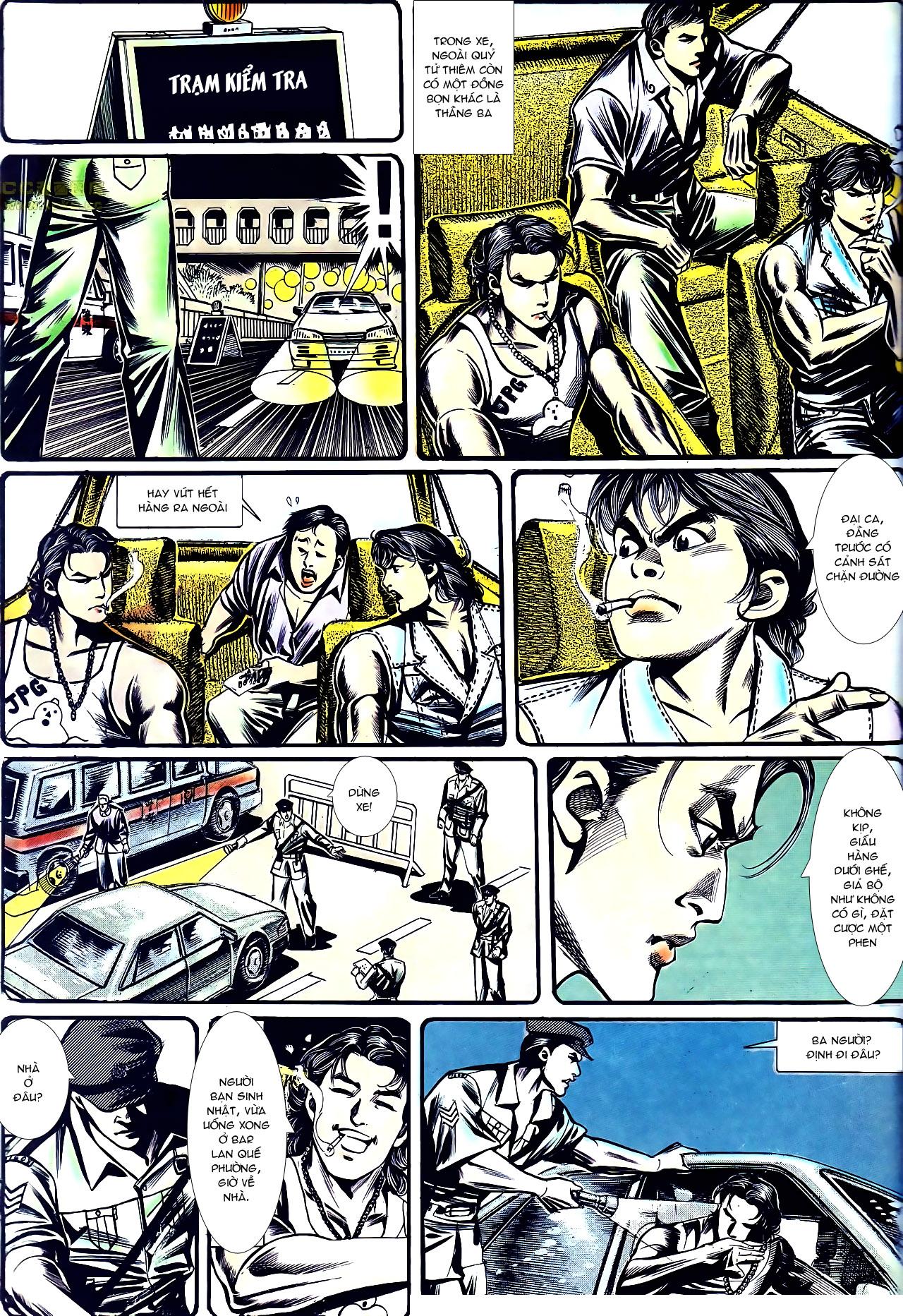 Người Trong Giang Hồ chapter 157: thiên đường địa ngục trang 5