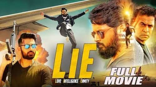 Poster Of Lie 2017 Full Movie In Hindi Dubbed Free Download HD 100MB For Mobiles 3gp Mp4 HEVC Watch Online