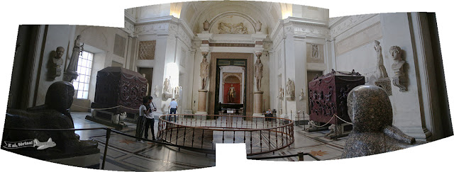 Sala egípcia, Museus Vaticanos, Vatican Museum, Vaticano