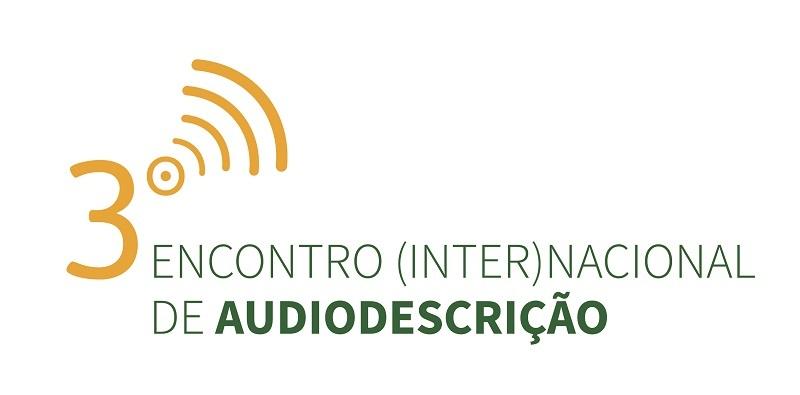 Encontro InterNacional de Audiodescrição - logomarca do evento