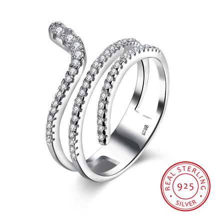 aneli forma di serpente tendenza gioielli 2018