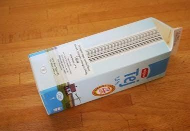 C mo hacer una estrella de navidad reciclando cajas de - Cajas de carton de navidad ...