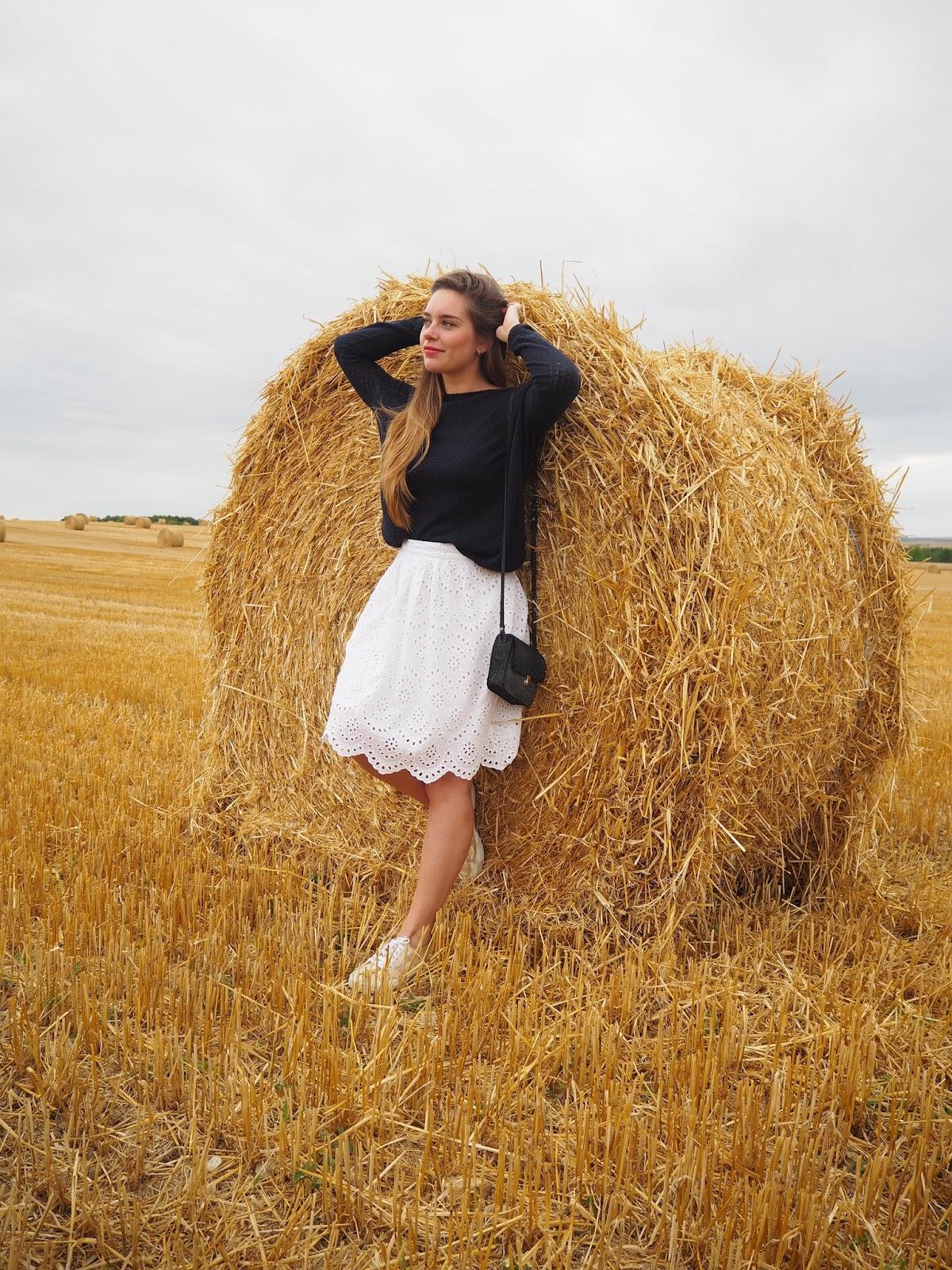 blog mode champs de blé