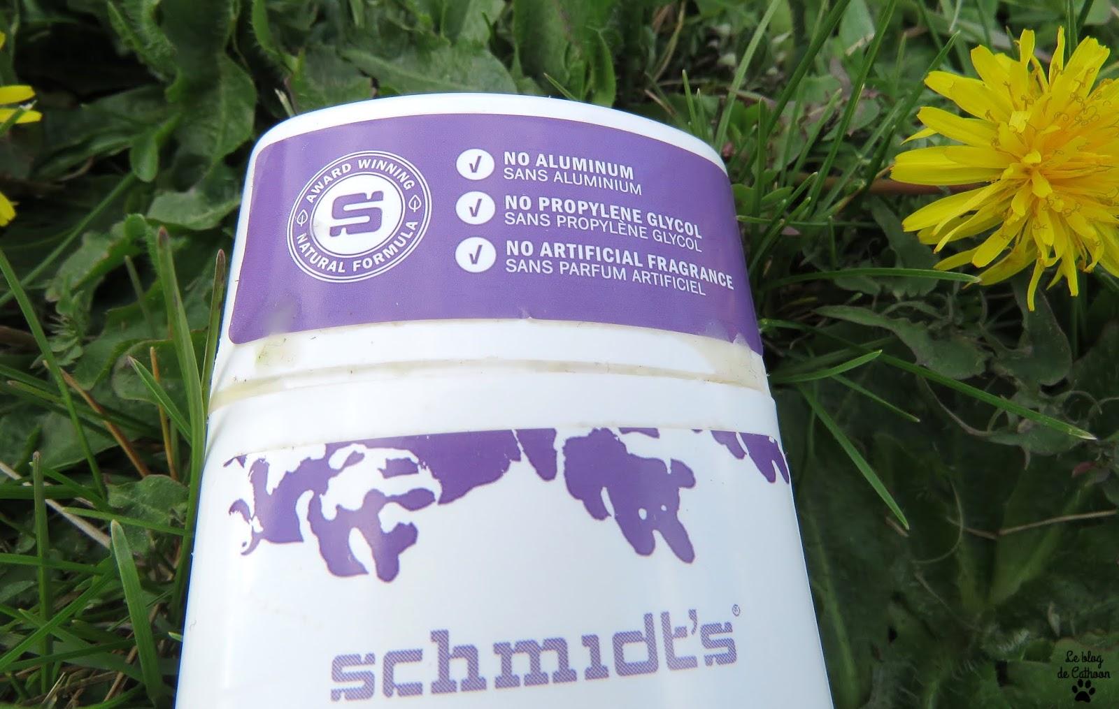 Déodorant Schmidt's, valent-ils leur réputation?!