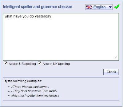 Mulai Menuliskan kalimat dalam Bahasa Inggris