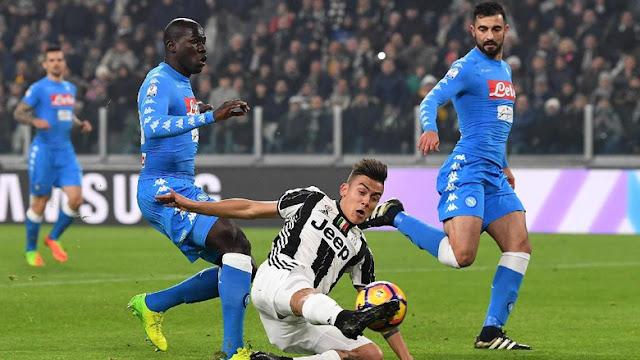 Tertinggal Lebih Dulu, Juventus Kalahkan Napoli 3-1