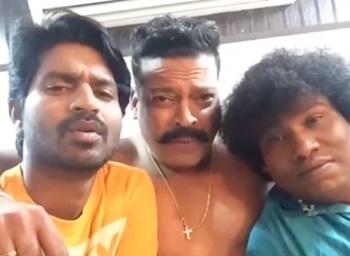 Yogi Babu Dubsmash John Vijay | Ma Ka Pa | Tamil Actor Dubsmash