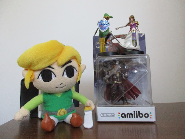 Ganondorf amiibo sealed case Link Legend of Zelda Toon plushie