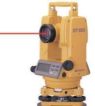 Jual Alat Survey Digital Theodolite Topcon 205L Di Gorontalo