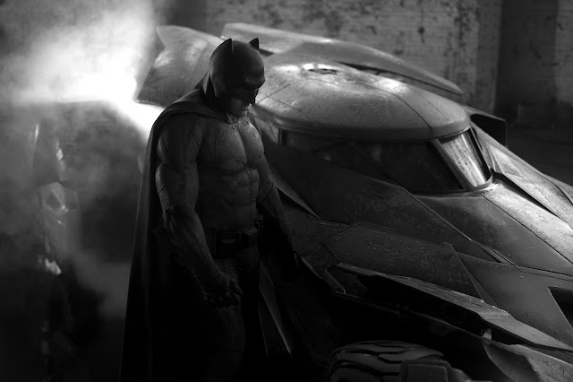 Batman v Superman: Dawn of Justice first look at Ben Affleck as Batman in Batman v Superman: Dawn of Justice
