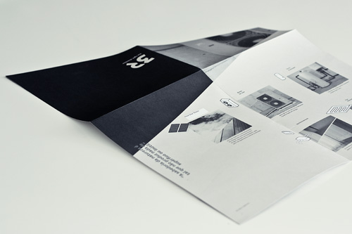 3R foldout brochure by Gen Design Studio renewable energy systems