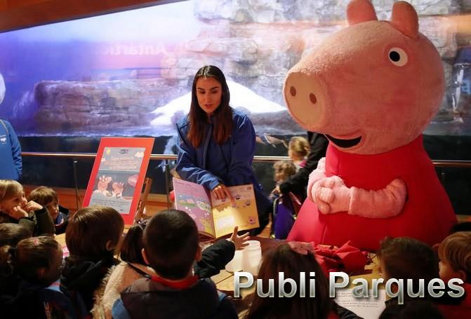 Experimento del libro de Peppa Pig