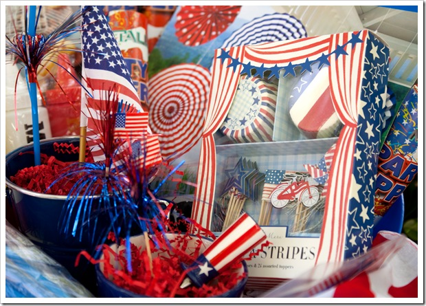 Fourth Of July Gift Baskets - American Independence Day (July 4th) Party Celebration Ideas