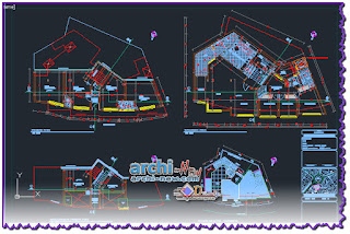 download-autocad-cad-dwg-file-Department-building-the-square