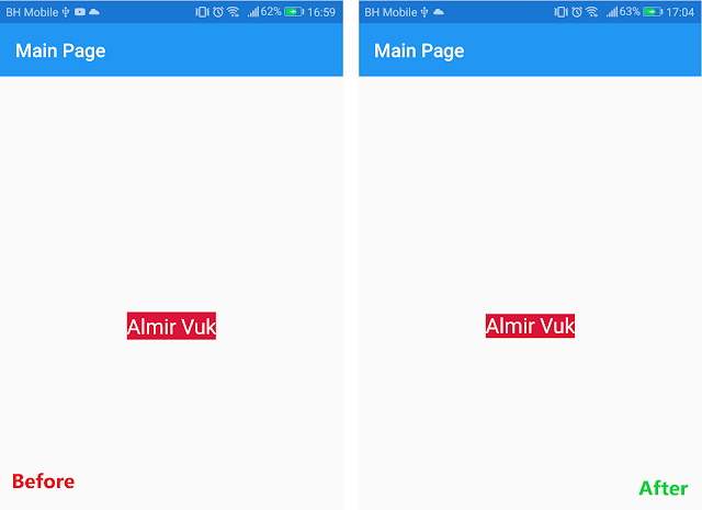 How to remove extra padding at the top of Label control in Xamarin