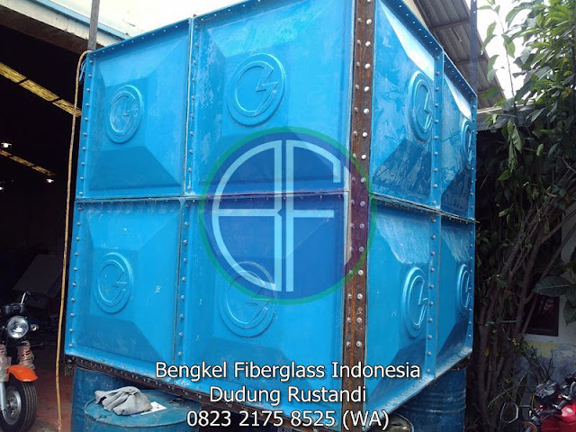 tangki panel cubical frp tank