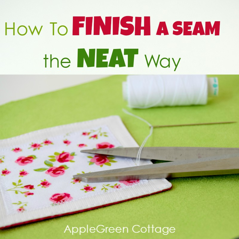 How To End Topstitching