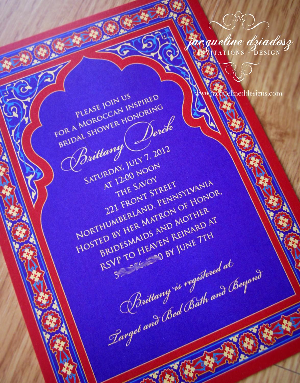 Bridal Shower Invitations Jacqueline Dziadosz