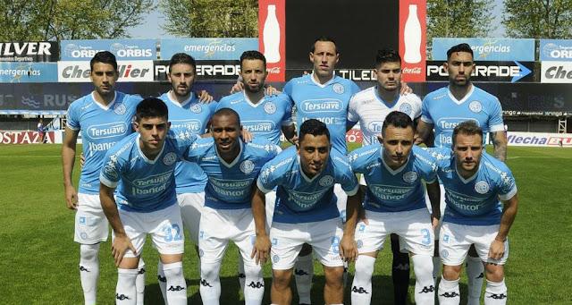 formacion de belgrano ante argentinos juniors - imagenes belgrano de cordoba