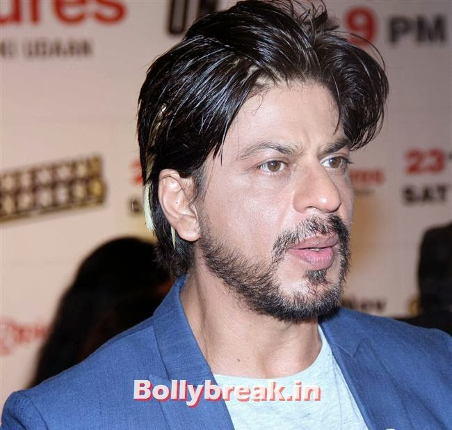 SRK with Beard, Chennai Express Success Party by Zee TV