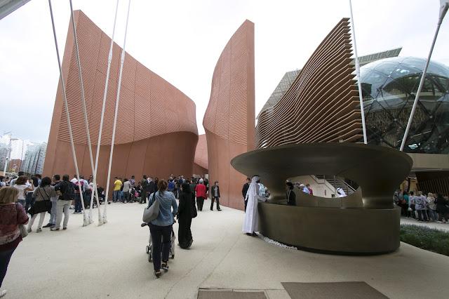 Padiglione Emirati arabi-Expo 2015-Milano