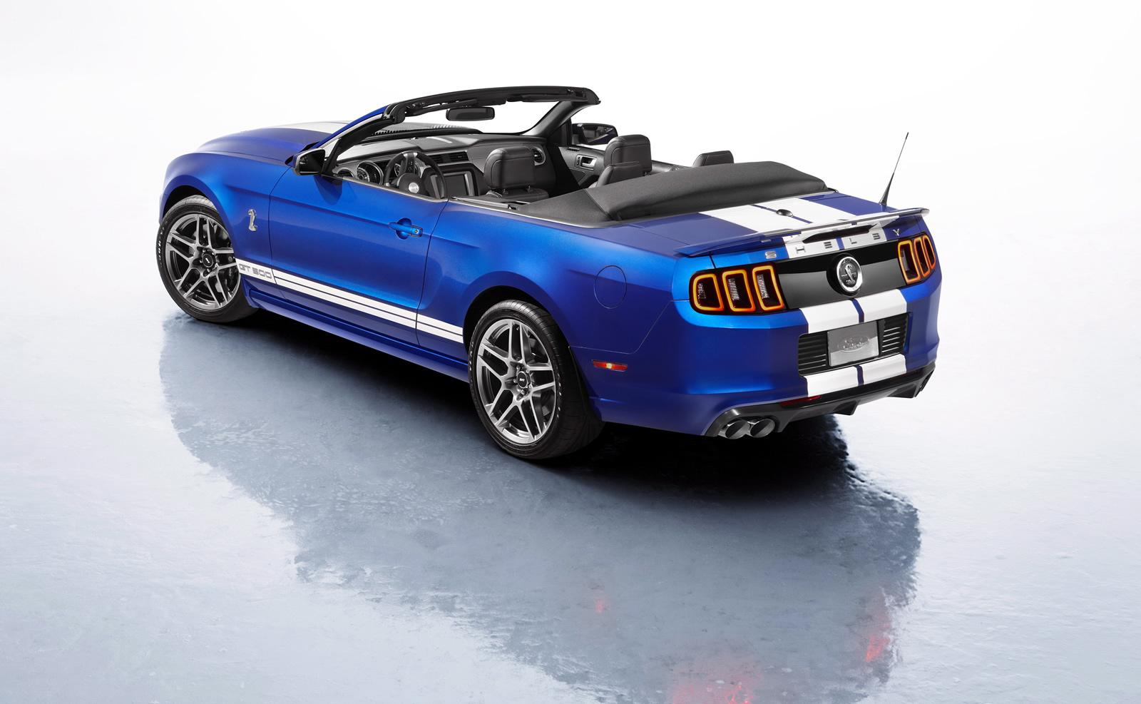 introducing the new ford shelby gt500 convertible 2012 2013 garage car. Black Bedroom Furniture Sets. Home Design Ideas