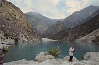 Uzbekistan, Chakhimardan, Kurban-Kul, Sacrifice Lake, © Louis Gigout, 1999