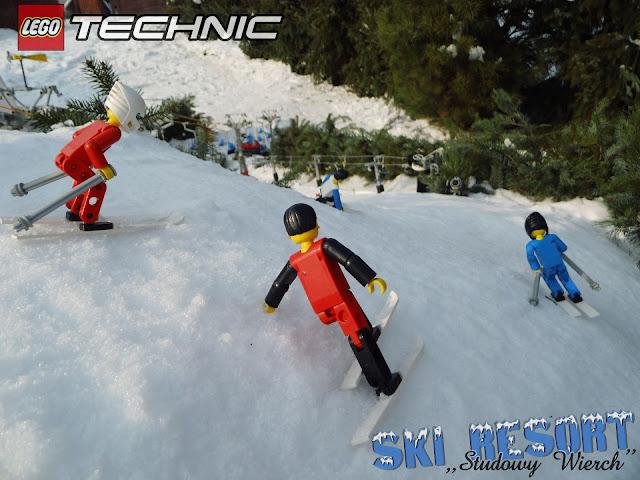 LEGO Буковель - крутий поворот