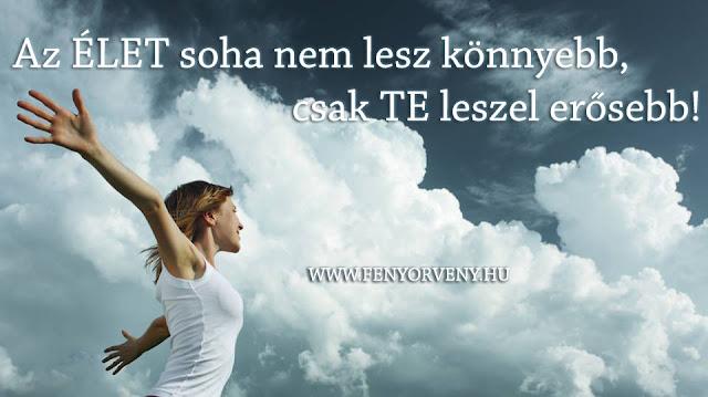 Motiváció: Az élet soha nem lesz könnyebb...