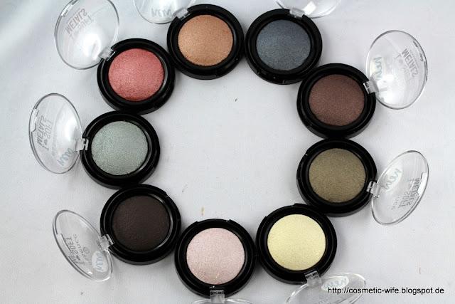 Essence I love soft metals eyeshadows