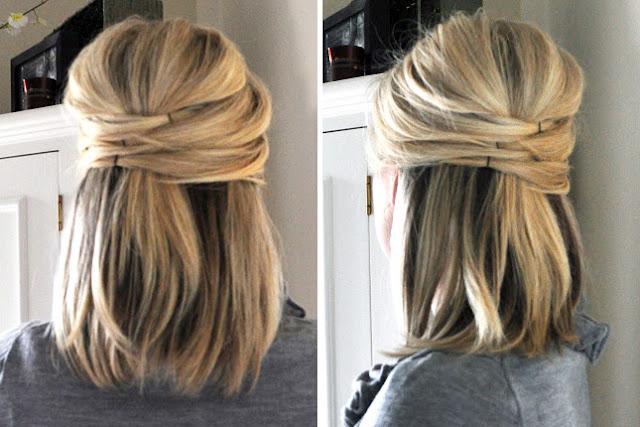 Peinados con coleta para pelo corto