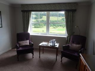 window view of bedroom in cardrona hotel