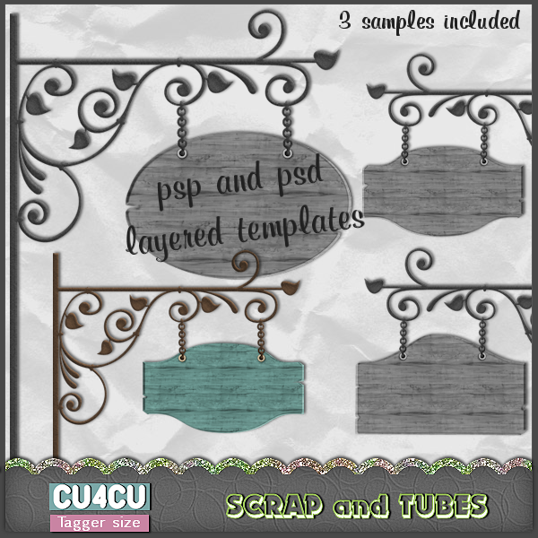 Sign Boards Template (CU4CU) .Sign%2BBoards_Preview_Scrap%2Band%2BTubes
