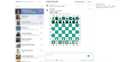 How to Play Hidden Chess Game Inside Facebook Messenger