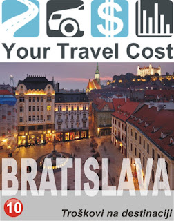 Bratislava, Slovačka – Troškovi