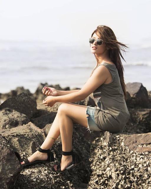 Priyanka Sarkar in Seashore