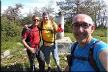 San Sebastian mendiaren gailurra 944 m. - 2018ko maiatzaren 27an