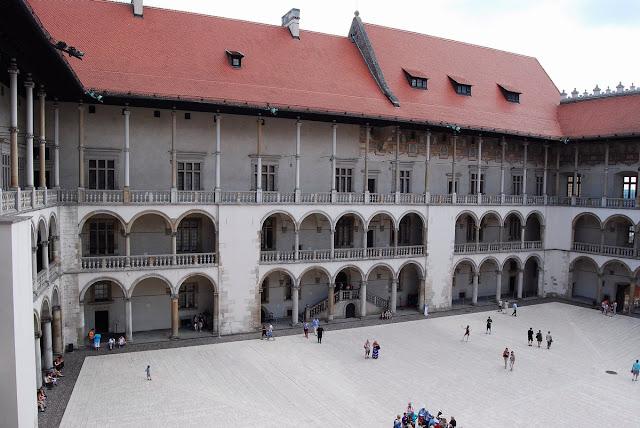 cour intérieure du château de Wawel