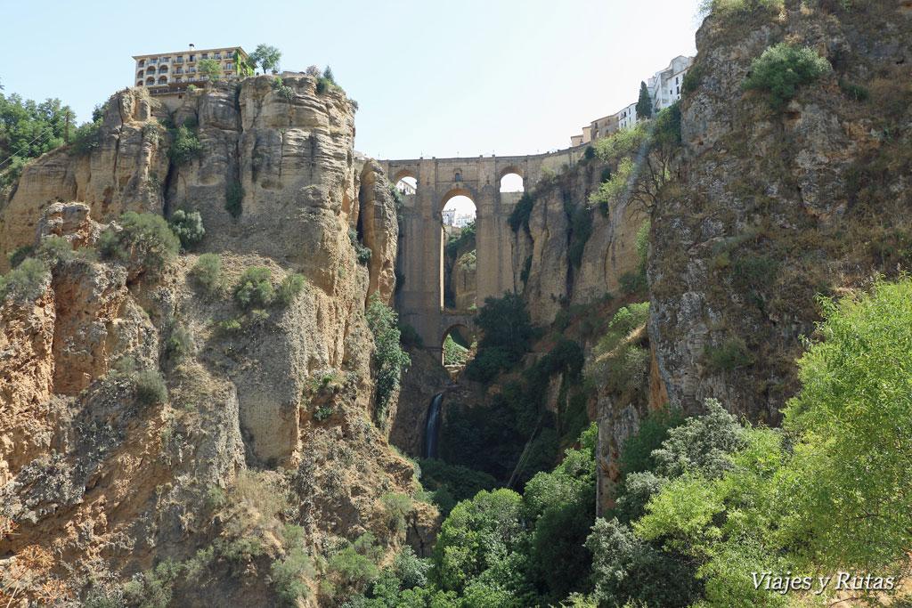 Puente del tajo desde el arco del Cristo