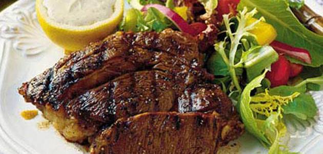 طريقة عمل ستيك اللحم بدبس الرمان
