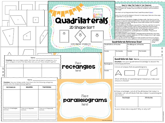 https://www.teacherspayteachers.com/Product/Quadrilaterals-2D-Shape-Sort-with-Shape-Cards-469711