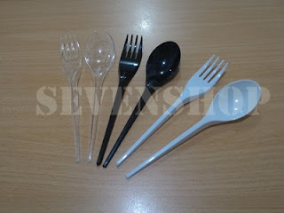 sendok plastik murah